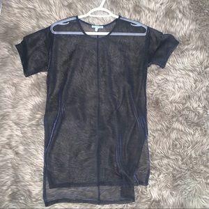 Charlotte Russe mesh top